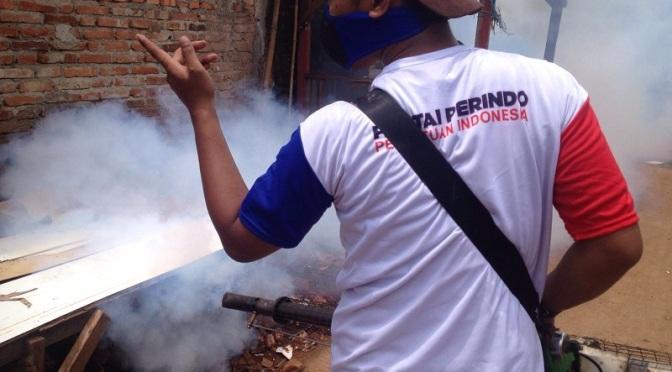 Cegah DBD, Rescue Perindo Adakan Penyuluhan di Bekasi