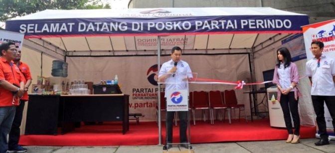 Hary Tanoe Siapkan 15 Titik Posko Mudik Perindo 2016