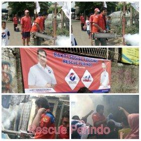 Serangkaian kegiatan Deklarasi Rescue Perindo, Bakti Sosial Foggin