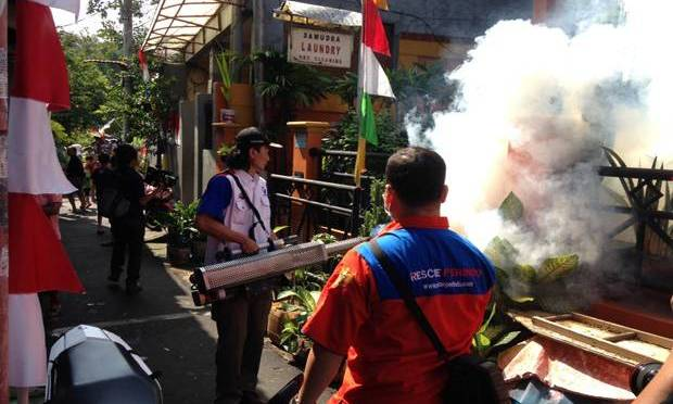 Aksi Nyata Rescue Perindo Cegah Demam Berdarah di Rawasari