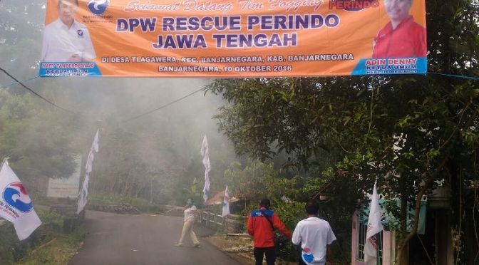 Rescue Perindo Jateng Fogging 500 Rumah di Banjarnegara