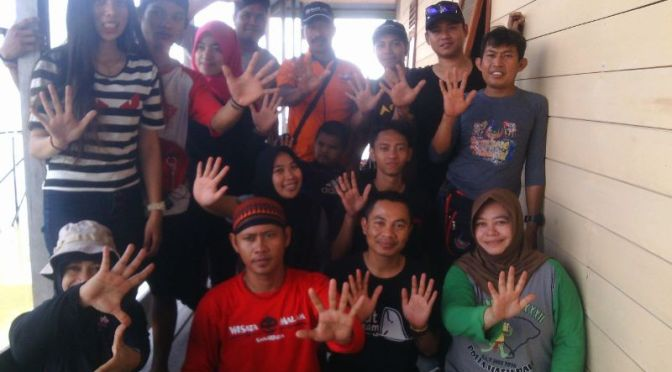 Rescue Perindo Bontang Latih Tim Diving Cara Evakuasi Kecelakaan di Air