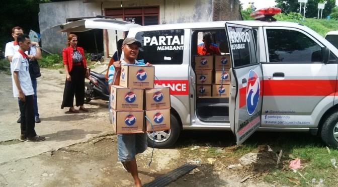 Rescue Perindo: Makanan Siap Saji Jadi Kebutuhan Mendesak Korban Banjir Bima