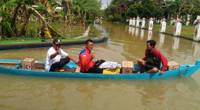 Rescue Perindo Dpw Jatim Berikan Bantuan Kepada Korban Banjir di  Jawa Tengah