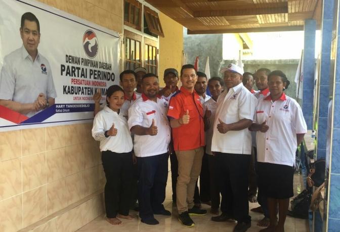 Proses Verifikasi Perindo Kaimana Papua Barat Berjalan Lanjar