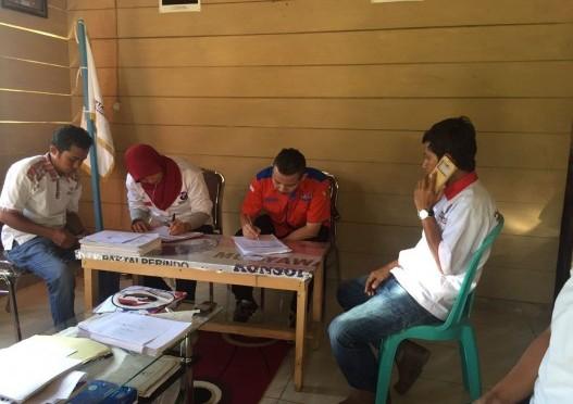 Tim DPP Perindo Menerjang Lautan demi Verifikasi di Banggai Kepulauan
