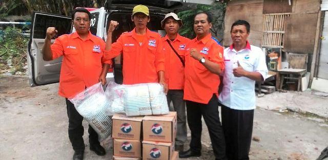 Peduli Korban Banjir, Tim Rescue Perindo Salurkan Bantuan