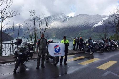 Perindo, Partai Politik Pertama yang Tancapkan Bendera di Puncak Gunung Alpen
