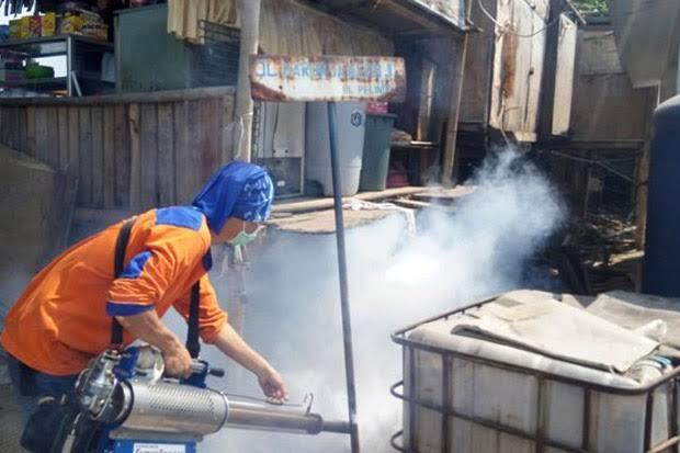 Rescue Perindo Gelar Fogging Gratis di Kampung Pesisir Cilincing