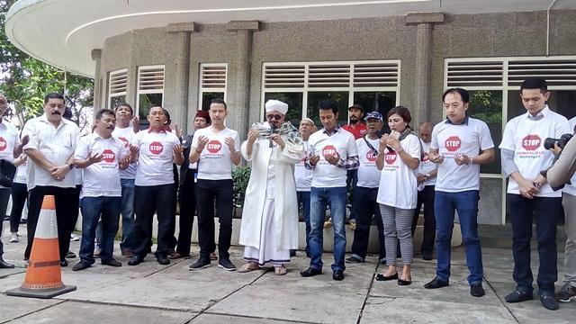 Aksi Petisi Dukung Ketum Perindo Hary Tanoe Digelar Serentak di Sejumlah Daerah