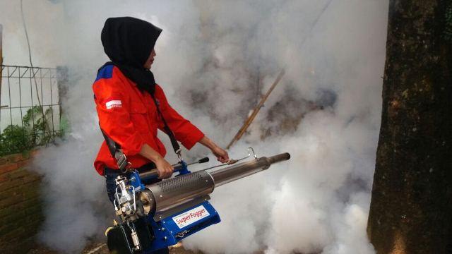 Di Mata Warga Pamulang, Rescue Perindo Gerak Cepat Akomodir Permintaan Fogging