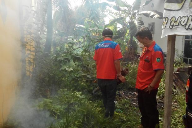 Rescue Perindo Sumsel Fogging 300 Rumah di Sungai Selincah