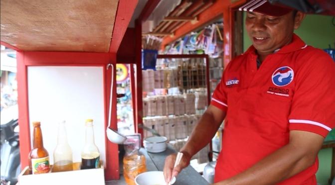 Penghasilan Pedagang Mie Ayam Gerobak Perindo Ini Meroket Tajam