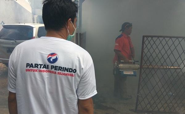 Alhamdulillah, Dapat Fogging Rescue Perindo, Warga Ciputat Timur Tak Lagi Cemas dengan DBD