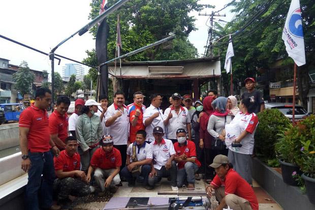 Cegah DBD, Rescue Perindo Gelar Fogging Gratis di Pademangan Timur