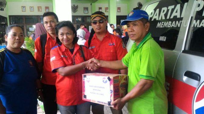 Pasca Diterjang Angin Puting Beliung, Rescue Perindo Penuhi Bantuan Kebutuhan Korban di Sidoarjo