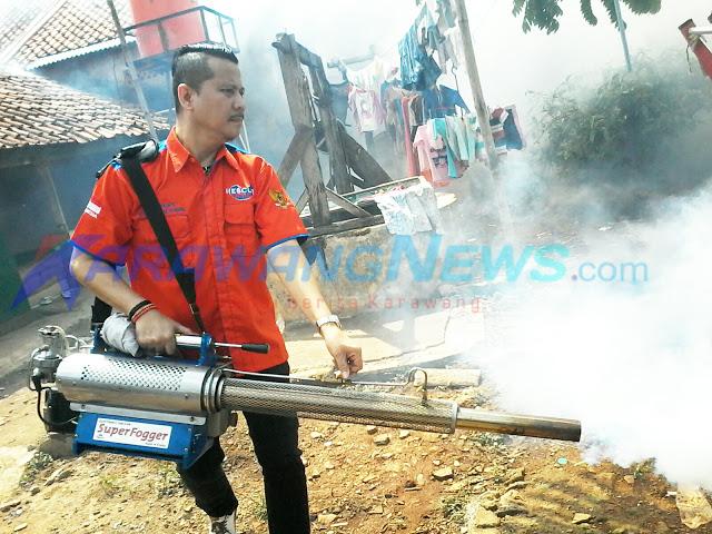 Rescue Perindo Fogging Pemukiman di Sarimulya