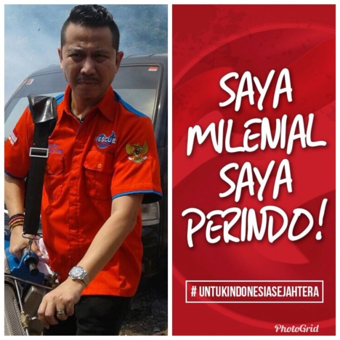 Rescue Perindo: Gerakan Kaum Milenial Bangun Kepedulian Anak Bangsa