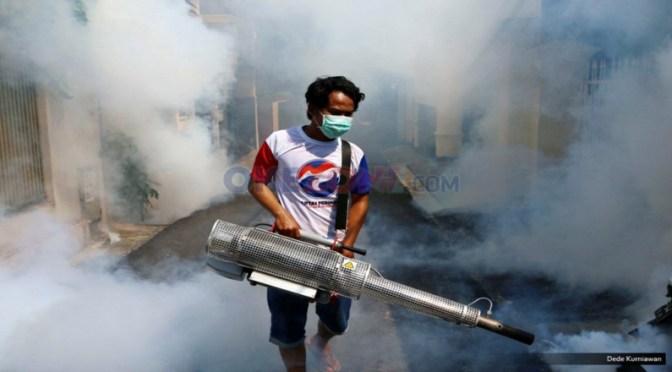 Rescue Perindo Gelar Fogging Gratis di Semarang