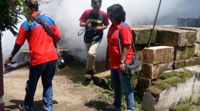 Musim Hujan, Rescue Perindo Jatim Fogging 500 KK di Jombang