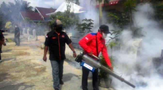 Rescue Perindo Kembali Gelar Fogging di Pekanbaru