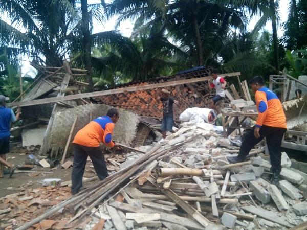 Rescue Perindo Terjunkan Tim Bantu Korban Gempa di Cilacap