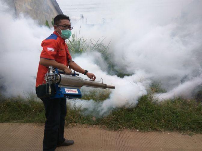 Banyak Korban Nyamuk DBD, Alasan Warga Tangsel Minta Fogging Rescue Perindo